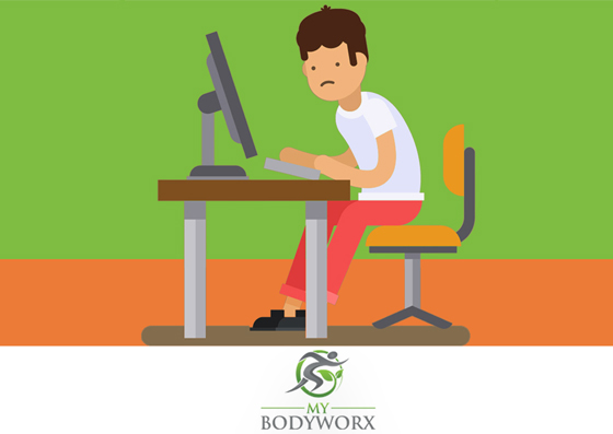 Does the Way You Sit at Work Cause Bad Posture?